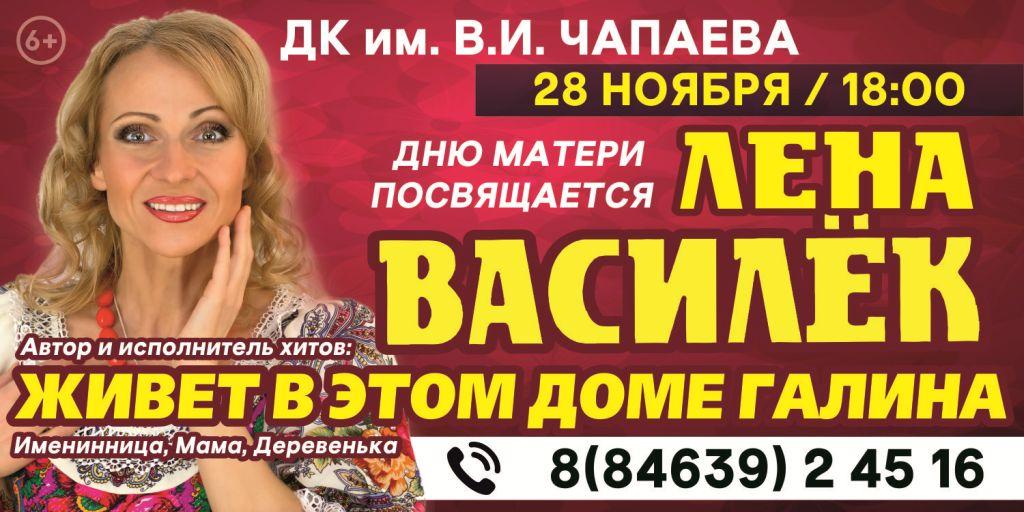 Василек_Чапаевск_ ДК им. В.И. Чапаева 28 Ноября